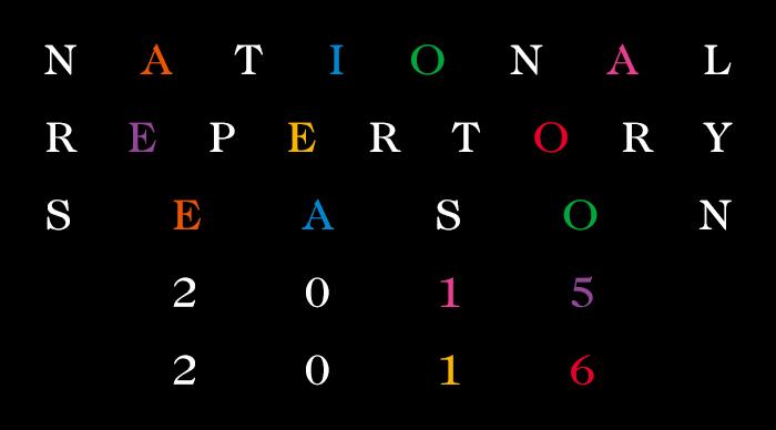 NATIONAL REPERTORY SEASON 2015 2016